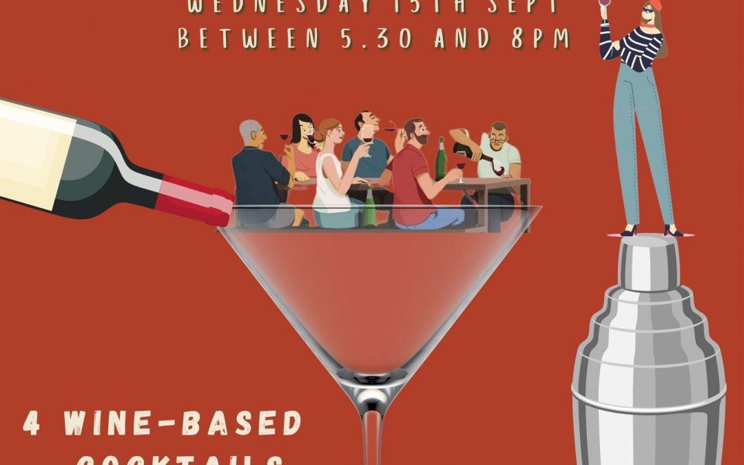 Guerrilla Tastings – Wine Cocktails