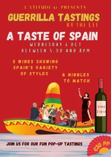 Guerrilla Tastings – A Taste of Spain